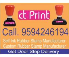 Custom Rubber Stamp Manufacturer